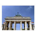 Puerta de Brandeburgo, Berlín, Alemania Postales