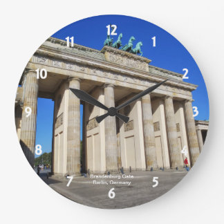 Puerta de Brandeburgo, Berlín, Alemania Reloj