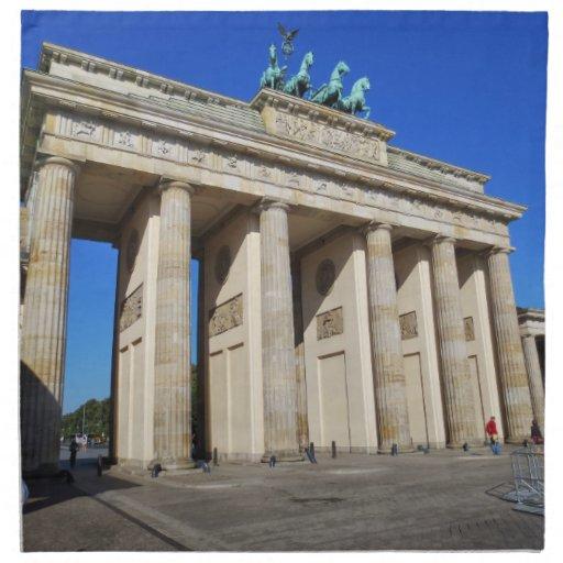 Puerta de Brandeburgo, Berlín, Alemania Servilleta