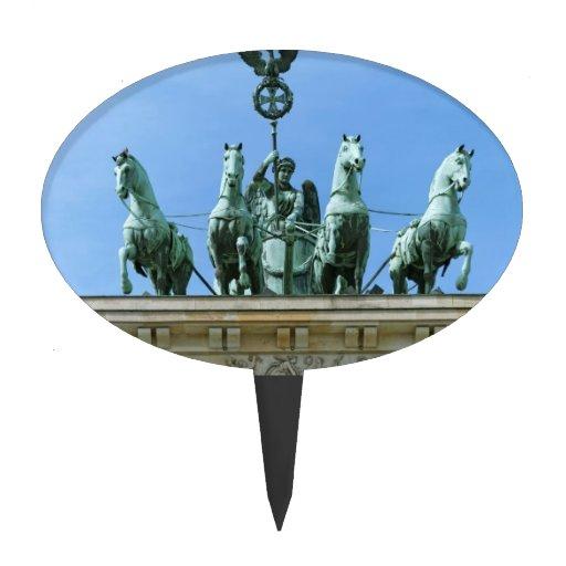 Puerta de Brandeburgo Berlín Figuras De Tarta