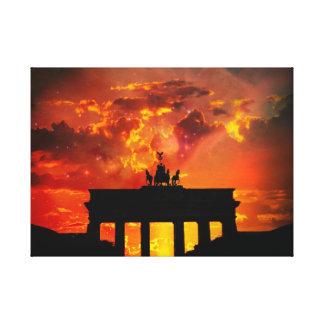 Puerta de Brandeburgo, Berlín Impresiones De Lienzo