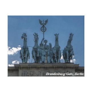 Puerta de Brandeburgo, Berlín Impresiones En Lona Estiradas