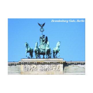 Puerta de Brandeburgo, Berlín Lienzo Envuelto Para Galerías