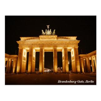 Puerta de Brandeburgo, Berlín Tarjetas Postales