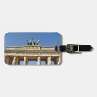 Puerta de Brandeburgo del Tor de Brandenburger Ber Etiquetas De Equipaje