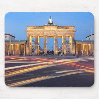 Puerta de Brandeburgo en Berlín Mouse Pads