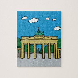 Puerta de Brandeburgo en Berlín Puzzle