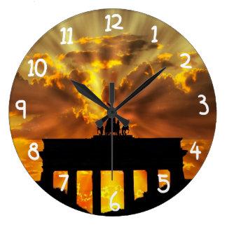 Puerta de Brandeburgo Reloj Redondo Grande