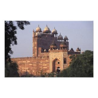 Puerta de Buland Darwaza de la victoria) al Dargah Arte Con Fotos