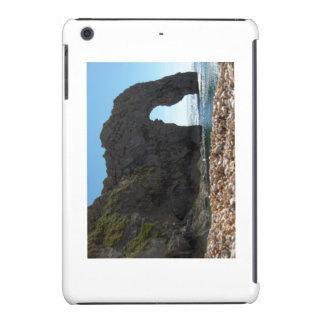 Puerta de Durdle, Devon, costa sur británica Fundas De iPad Mini Retina