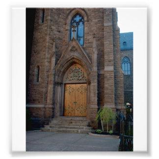 Puerta de entrada a la iglesia de St Louis en el Fotografía