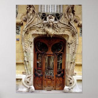Puerta de entrada a los apartamentos 2 impresiones