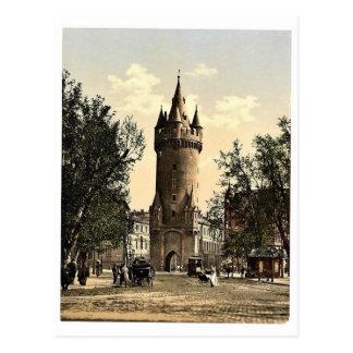Puerta de Eschenheimer, Frankfort en la tubería (e Tarjeta Postal