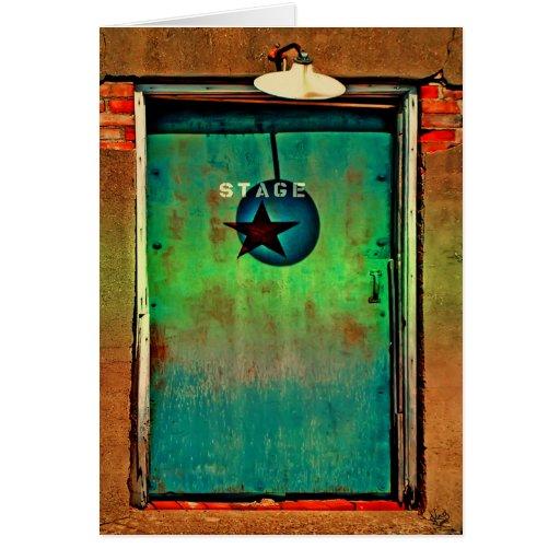Puerta de etapa tarjeta pequeña
