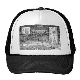 Puerta de granero de Colorado y ventana viejas rús Gorra