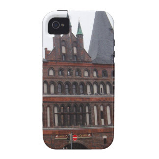 Puerta de Holsten - Lubeck Alemania iPhone 4 Carcasa