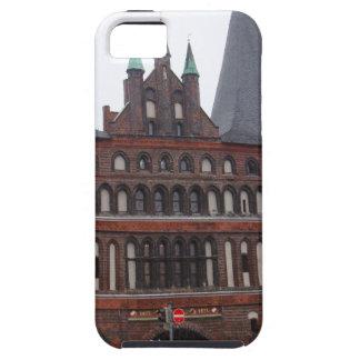 Puerta de Holsten - Lubeck Alemania iPhone 5 Cárcasas