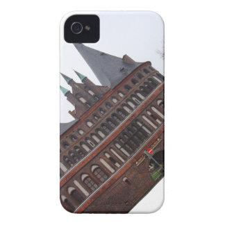 Puerta de Holsten - Lubeck Alemania Case-Mate iPhone 4 Protectores
