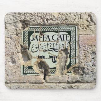 Puerta de Jaffa - Jerusalén Alfombrillas De Ratones