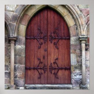 Puerta de la abadía de Bolton Poster
