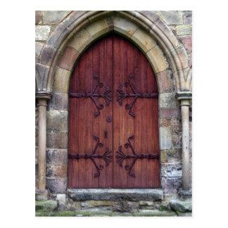 Puerta de la abadía de Bolton Tarjeta Postal