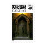 Puerta de la catedral en la noche (1) franqueo
