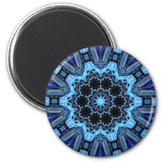 Puerta de la estrella imán redondo 5 cm