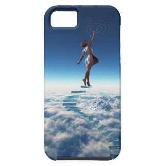 Puerta de los cielos iPhone 5 fundas