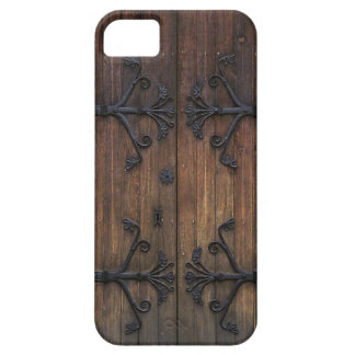 Puerta de madera vieja hermosa iPhone 5 carcasa
