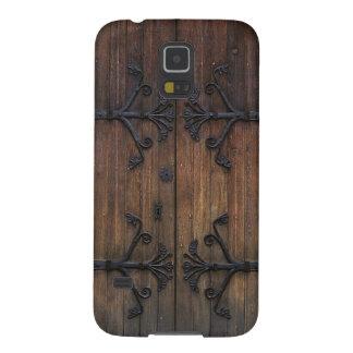 Puerta de madera vieja hermosa