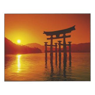 Puerta de O-Torii, capilla de Itsukushima, Impresión En Madera