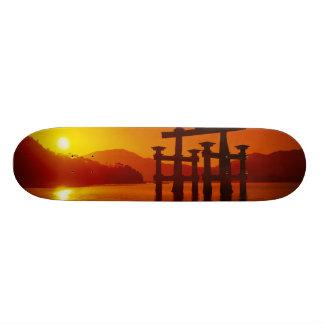 Puerta de O-Torii, capilla de Itsukushima, Miyajim Tablas De Skate