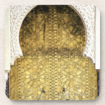 Puerta de oro y una manera del arco, Marruecos Posavasos De Bebida