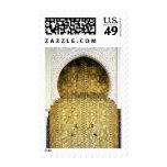 Puerta de oro y una manera del arco, Marruecos Sellos