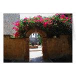 Puerta de San Juan Capistrano de la misión Felicitación