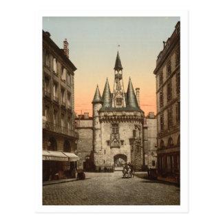 Puerta de Sevigne, Burdeos, Francia Tarjeta Postal