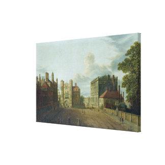 Puerta de T33675 Holbein, Whitehall Impresión En Lienzo Estirada