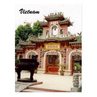 puerta de Vietnam Tarjeta Postal