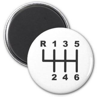 Puerta del cambio de 6 velocidades imán redondo 5 cm