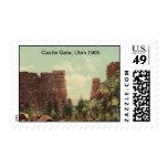 Puerta del castillo, Utah 1905 Franqueo