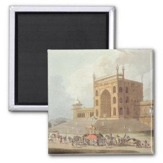 Puerta del este del Jummah Musjid en Delhi, de ' Iman De Nevera