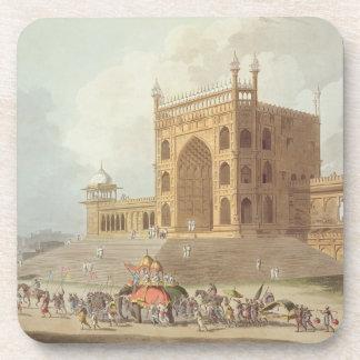 Puerta del este del Jummah Musjid en Delhi, de ' Posavasos De Bebida
