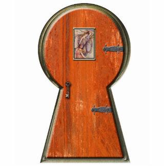 Puerta del Faerie del ojo de la cerradura Esculturas Fotográficas