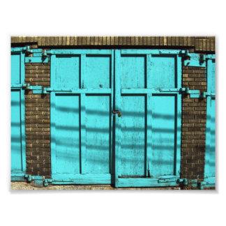 Puerta del garaje fotografías