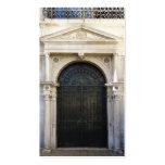 puerta del hierro tarjetas de visita