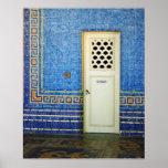 Puerta del mosaico - poster