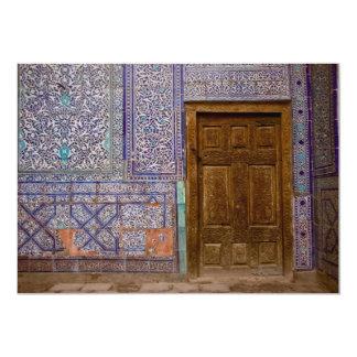 """Puerta del palacio de Toshxauli Invitación 5"""" X 7"""""""
