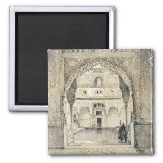 Puerta del Pasillo de embajadores, de los 'bosquej Imán Cuadrado
