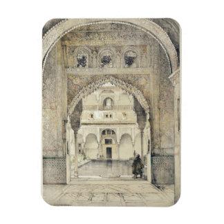 Puerta del Pasillo de embajadores, de los 'bosquej Iman Flexible