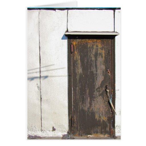 Puerta del top del tejado de Brooklyn Tarjeton